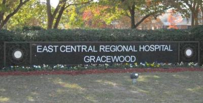 Gracewood campus sign
