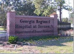 Georgia Regional Hospital Savannah Georgia Department Of