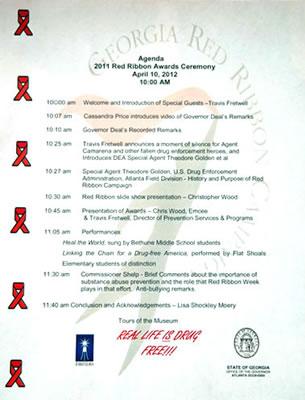 2012 Governor's Red Ribbon Awards Ceremony  Department of Behavioral