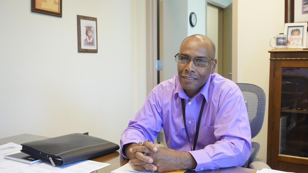 Gilbert Sutton, Jr., Central State Hospital's new Regional Hospital Administrator